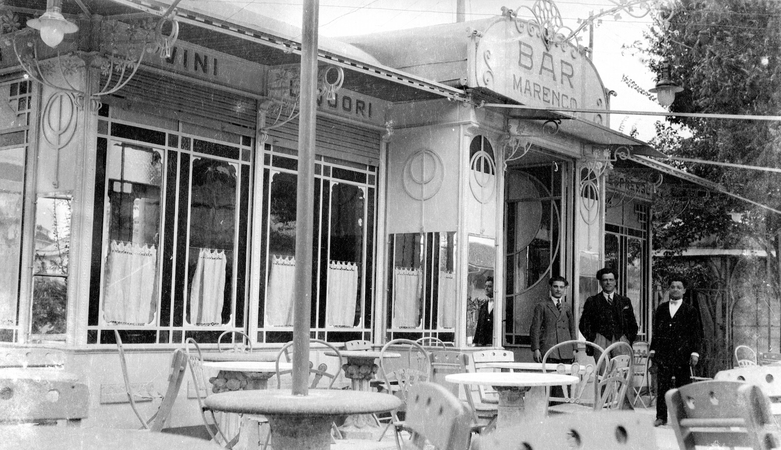 Bar Gelateria Lurisia foto storiche