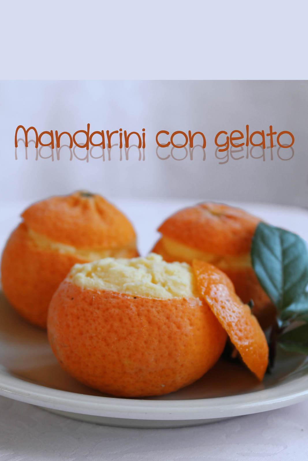 Bar Gelateria Lurisia mandarini con gelato